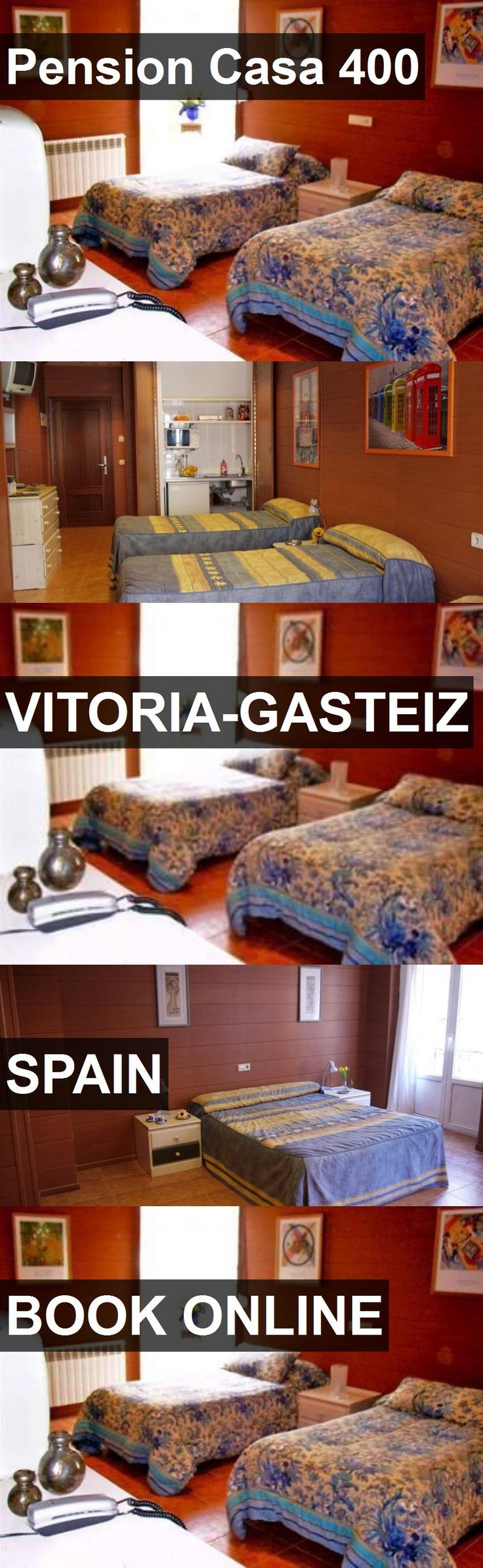 Hotel Pension Casa 400 in Vitoria-Gasteiz, Spain. For more information, photos, reviews and best prices please follow the link. #Spain #Vitoria-Gasteiz #travel #vacation #hotel
