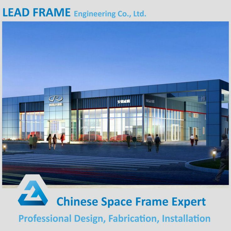 Prefabricated Fast Assembling Steel Structure Function Hall Design