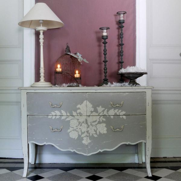 Grande commode - 4 tiroirs Collection Florentin - Copyright Interior's France