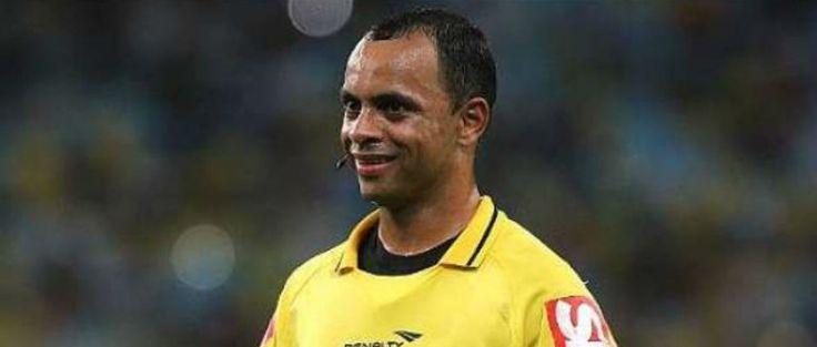 Wilton Sampaio será el árbitro de Venezuela vs. Colombia