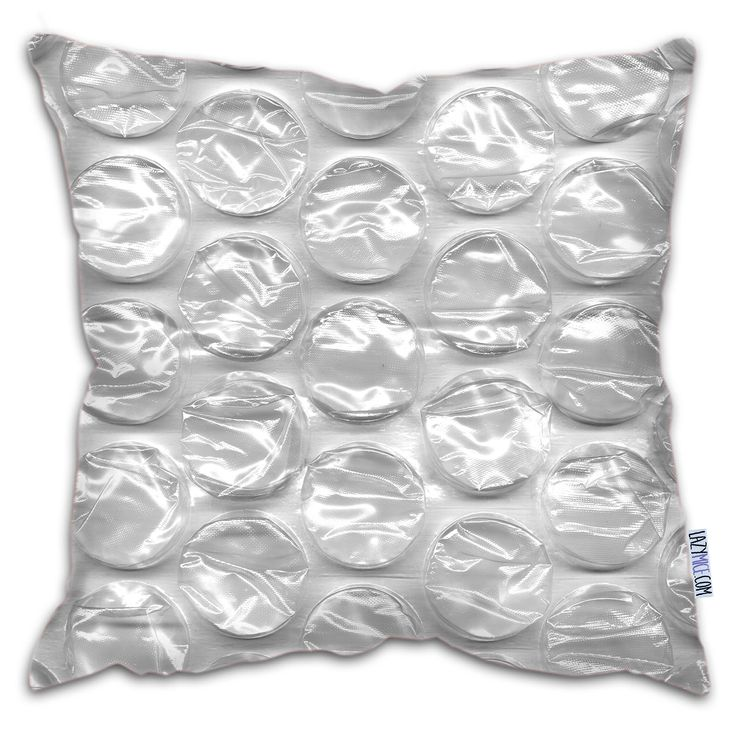 'Bubble Wrap' Faux Suede Cushion