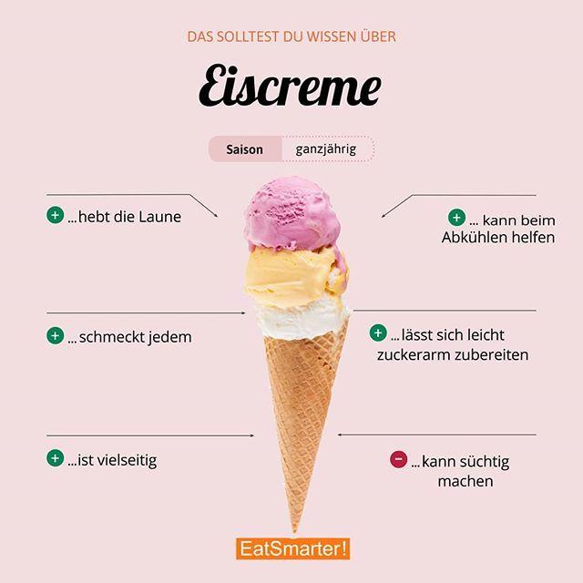 Ein bisschen Spaß muss sein! Wer sollte sich das mehr zu Herzen nehmen?  Hier gibt es gleich Rezepte zum Umsetzen: eatsmarter.de/rezepte/rezeptsammlungen/gesundes-eis