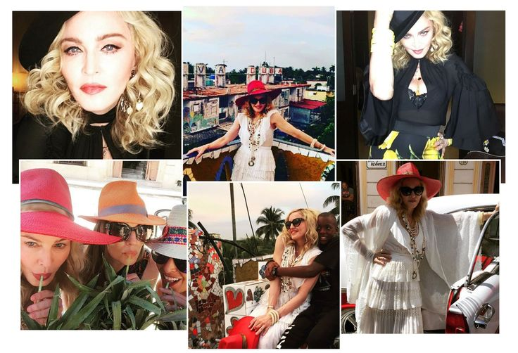 For her 58th birthday, the queen of pop jetted off to Cuba with a group of close friends to celebrate in style. With the piña coladas flowing, a visit to Havana and some enthusiastic dance sessions, check out all the snaps from Madonna's birthday get-away in the sun.