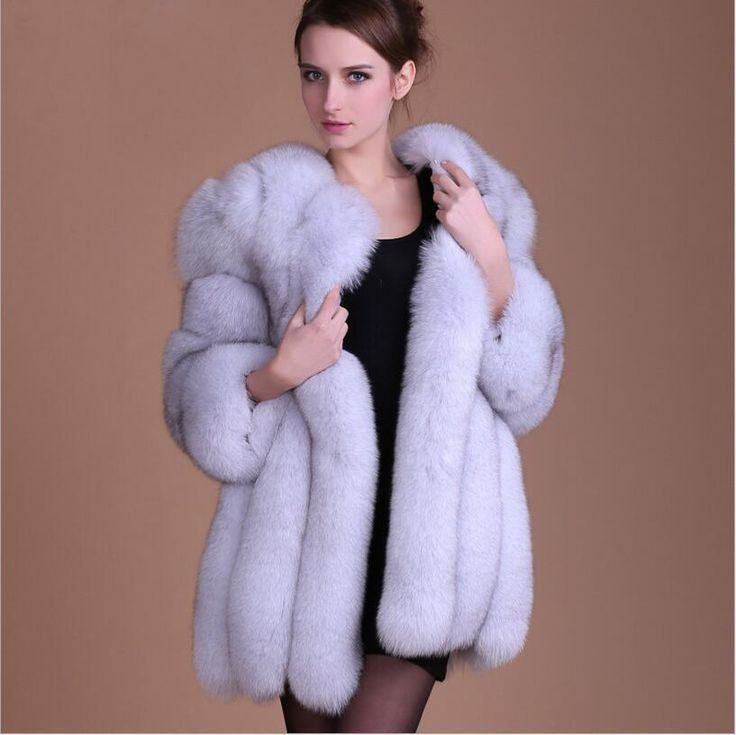 98 best fur coat women images on Pinterest | Fox fur coat, Cheap ...