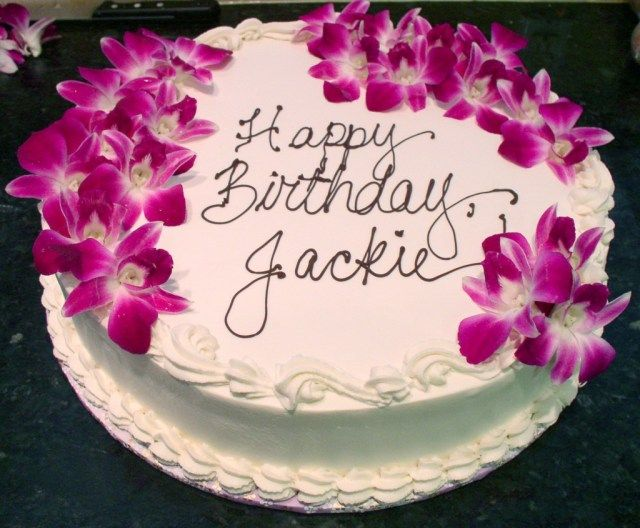 20 Excellent Image Of Happy Birthday Jackie Cake