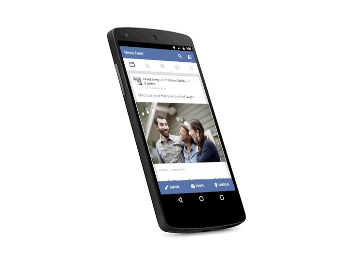 Facebook for Android by Chris Masterson for Facebook