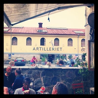 View from da Matteo coffee bar, Gothenburg
