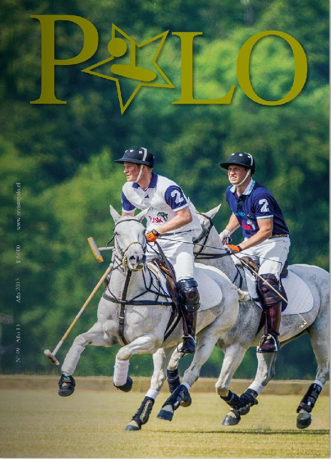 Portada Revista Polo #49, Diciembre 2013, Prince Harry and William the Duke of Cambridge at The Kent & Curwen Royal Charity Polo Cup.