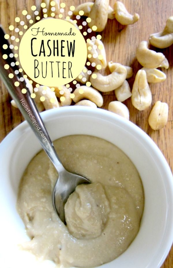 Soaking and dehydrating nuts. How to Make Homemade Cashew Butter ...