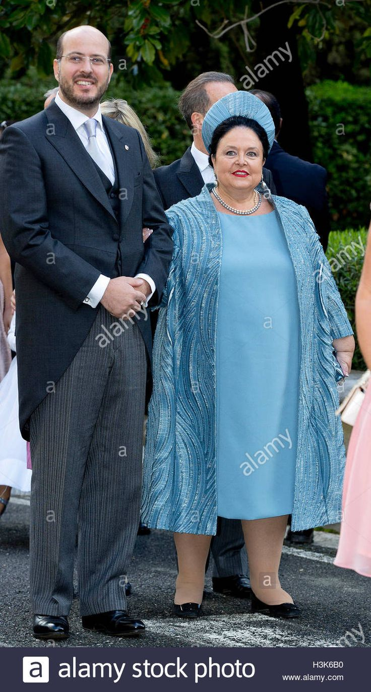 Download this stock image: Tirana, Albania. 08th Oct, 2016. Grand Duchess Maria of Russia and Prince Ali of Egypt Royal wedding of HRH Crown Prince Leka II of The Abanians and Miss Elia Zaharia, October 8, 2016, Tirana Albany, 08-10- 2016 Photo: Albert Nieboer//Point de Vue OUT - NO WIRE SERVICE -/dpa/Alamy Live News - H3K6B0 from Alamy's library of millions of high resolution stock photos, illustrations and vectors.