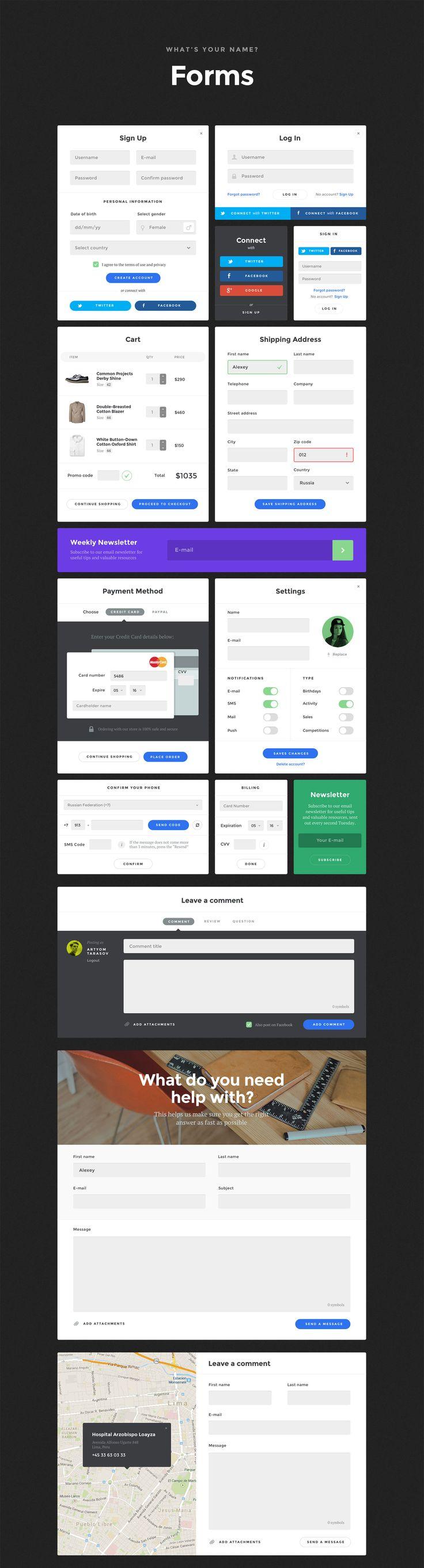 Baikal – Stylish Web Component Based UI Kit