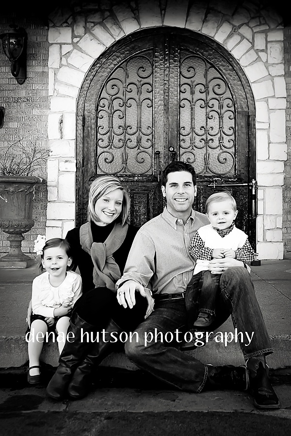 Family Photography......like the Gates in the background...