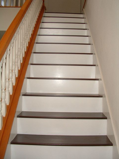 Installing Laminate Flooring On Stairs Diy Stairs Lets Be Honest Were Not So Good With The