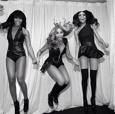 Beyonce, Destiny's Child #blackgirlsrockthesuperbowl