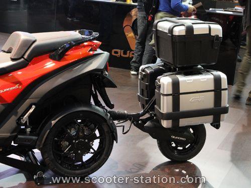 Quadro5 2016 : Quadro4 + remorque Quadro / Givi | Motor ...