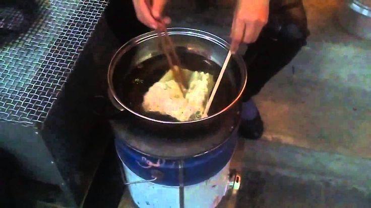 Çin Sokak Yemeği - Kızarmış Peynir