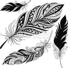 Image result for mandala feather tattoo