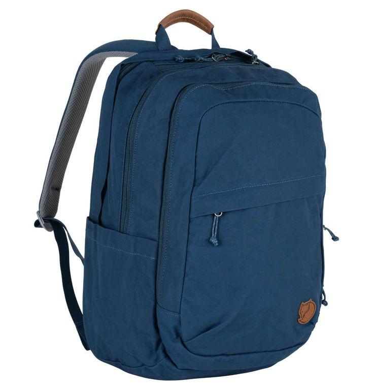 "FJÄLLRÄVEN Rucksack ""Räven"", sehr robust, Laptopfach, 28 l blau"