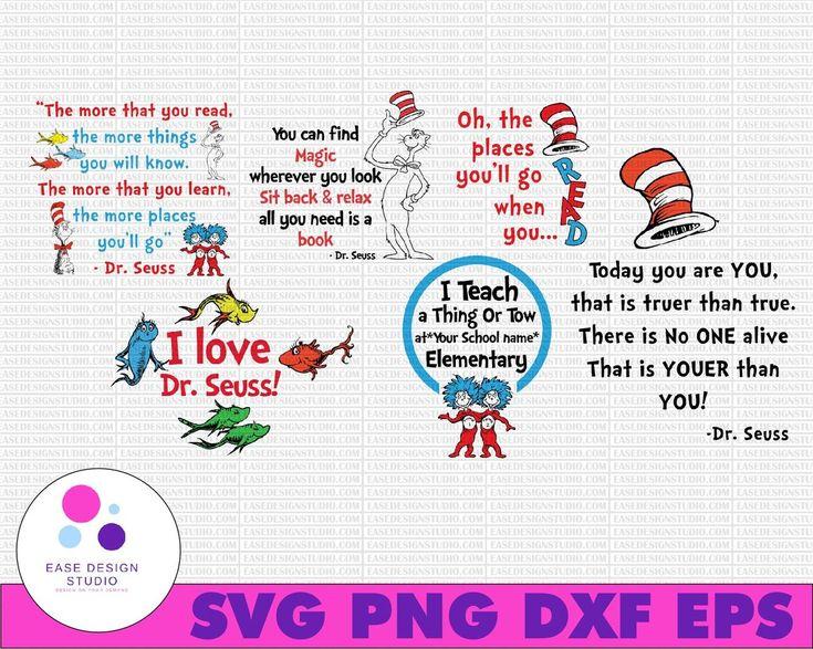 Dr.Seuss SVG BUNDLE, grinch svg, dr seuss svg, stranger
