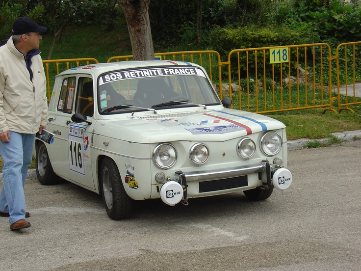 Renault R8 Gordini. A small and rather underated car of the 60's.