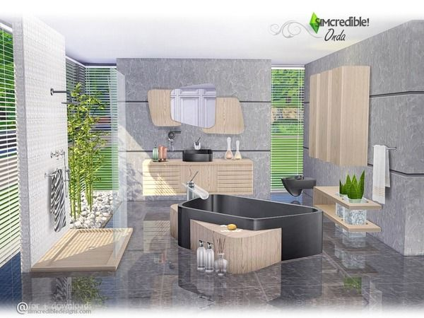 Großartig 24 Besten Bathroom For Sims 2,3,4 Bilder Auf Pinterest Haus   Sims