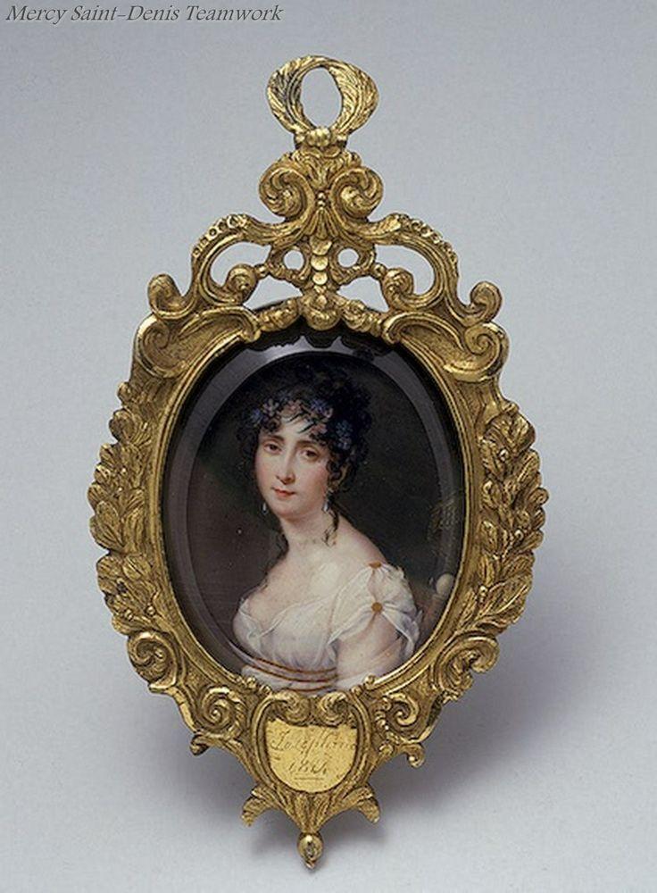Portrait of Empress Josephine , 1814 Roshar.