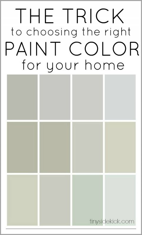 The Trick to Choosing the Right Paint Color + 12 Perfect Neutral Paint Colors | TinySidekick