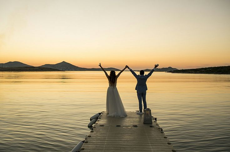 Destination wedding in Paros island Greece