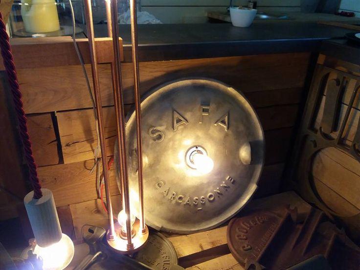 industrial lamp by Fabio Antonini designer