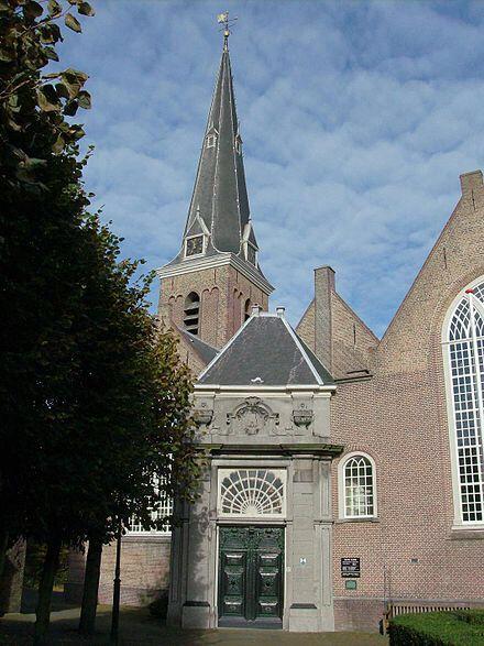 The old church in Voorburg.