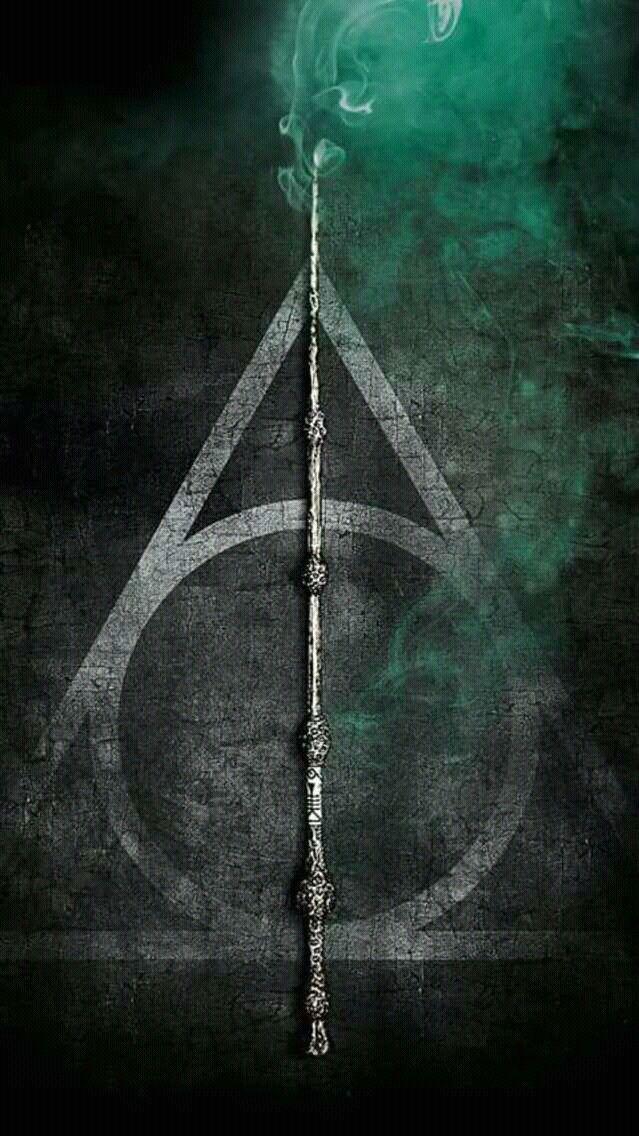 Harry Potterly Hollows Symbol Always Triangleinvisibility Cloak Wandelder Wand Circleresurrection Stone