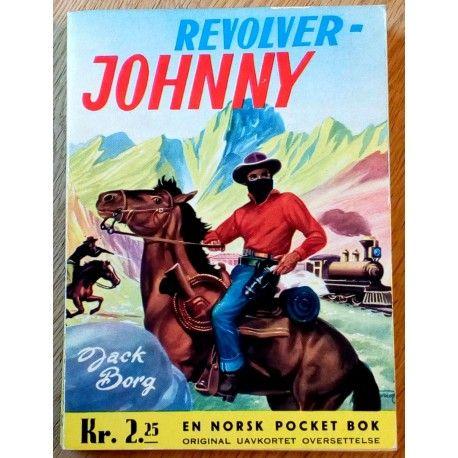 Fredhøis Pocket: Nr. 123 - Jack Borg: Revolver-Johnny