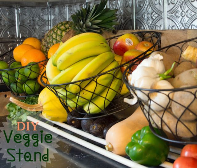 @Gina @ Shabby Creek Cottage shows you how to store your fruits and vegetables i