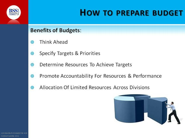 More on how to prepare budget