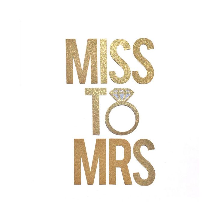 Miss To Mrs Banner Bridal Shower Decor Bachelorette Party Decorations