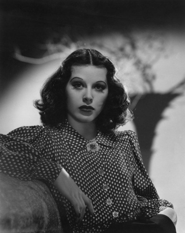 Hedy Lamarr (1914–2000) my new role model. 1950's moviestar - oh, and she invented a technology that we still use in WIFI and Bluetooth. BAD.ASS.