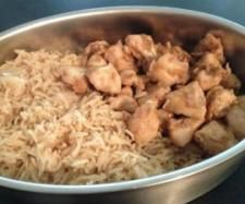 Easy Peasy Thermomix Varoma Garlic & Soy Chicken and Rice (tip from Kristina: try with a bit of ginger added with the garlic as well)