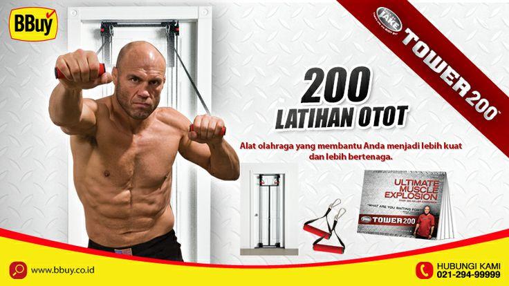 200 latihan pembentuk otot kuat dan besar http://bbid.co/1b4hLqS