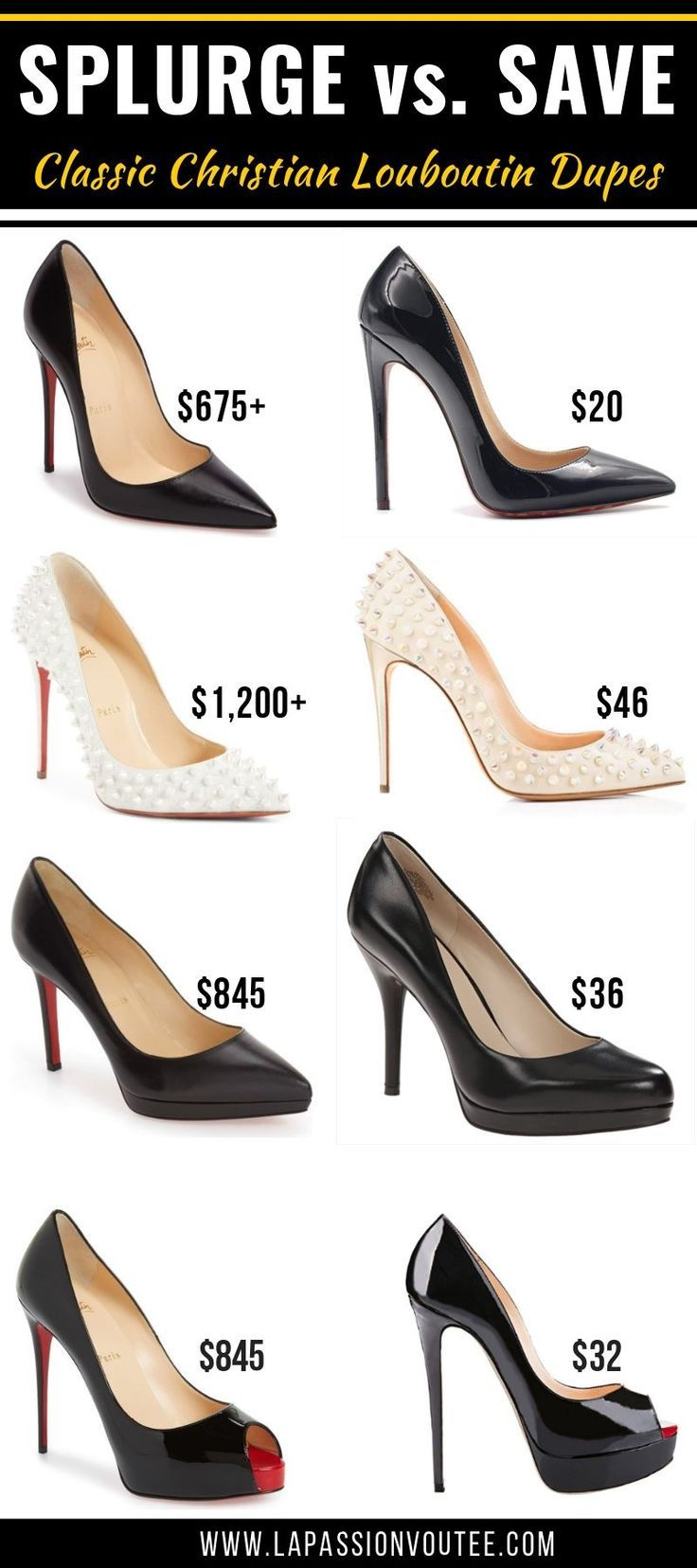 b7ac6dd2750 15+ Cheap Christian Louboutin Shoe Dupes [& Where to Shop Red Bottom ...