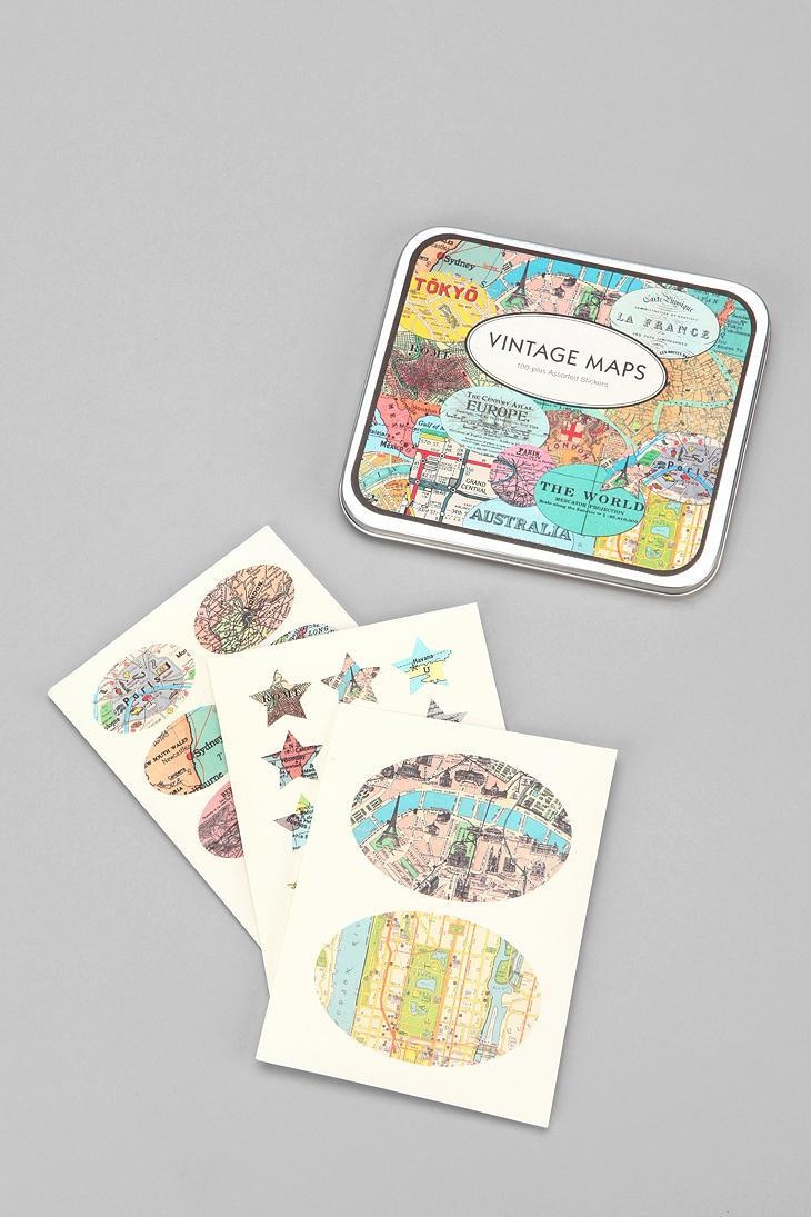 Vintage-Style Sticker Set #urbanoutfitters