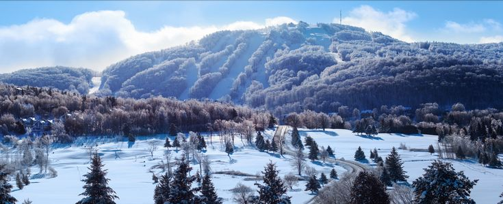 Bromont Ski Resort, Quebec