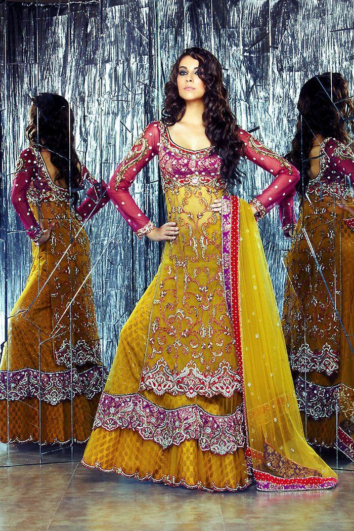 lengha-choli combo... Indian bridal    #indianwedding