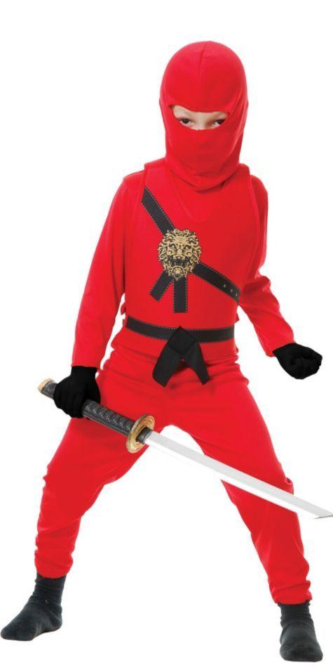 Boys Red Ninja Avenger Costume Avengers Boys And Products  sc 1 st  Meningrey & Red Ninja Costume For Boys - Meningrey