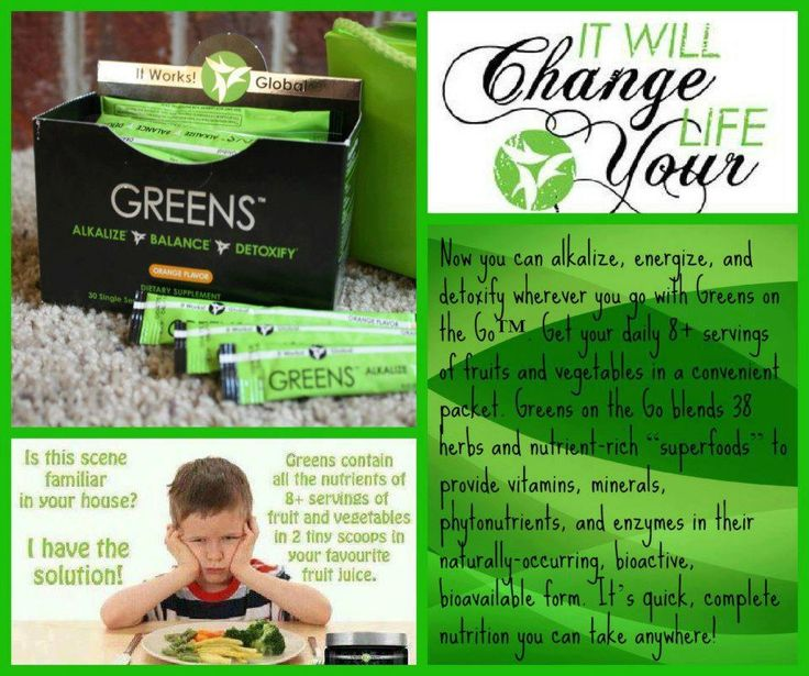 It works global greens and the it works body wrap get on for It works global photos