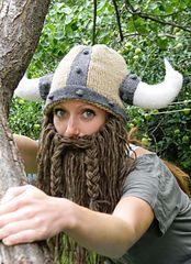 Ravelry: Bearded Viking Helmet pattern by Holly Priestley