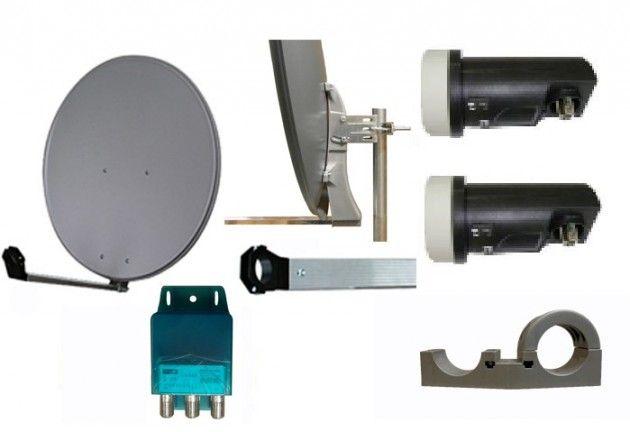 80x75cm Norden parabol komplett | Satelittservice tilbyr bla. HDTV, DVD…