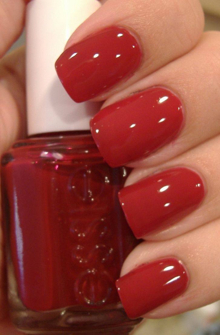 Nail Polish Lottery Club Week 8: 127 Best Red Nails !! Images On Pinterest