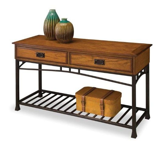 Home Styles 5050-22 Modern Craftsman Sofa Table