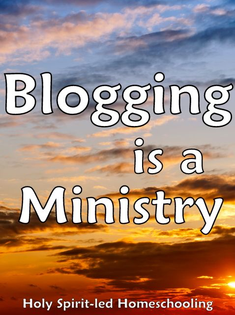 Blogging is a Ministry: How to Start a Blog