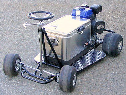 Go Cooler Kart Rad Machines Pinterest Go Kart